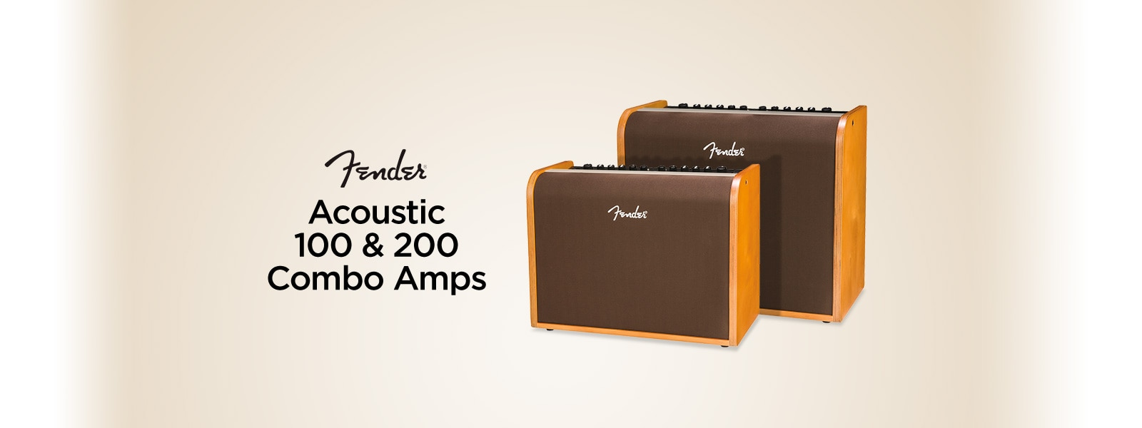 Acoustic 100 and 200 combo amps