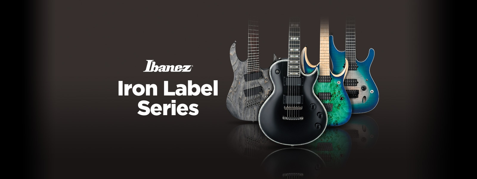Ibanez Iron Label Guitars