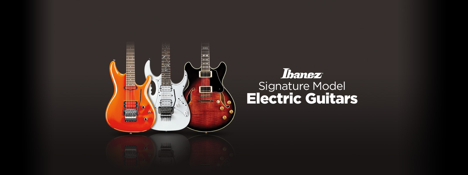 Ibanez Signature Model Electric Guitars