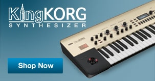 King Korg Synthesizer