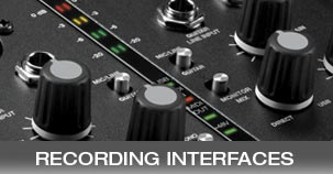 M-Audio Recording Interfaces