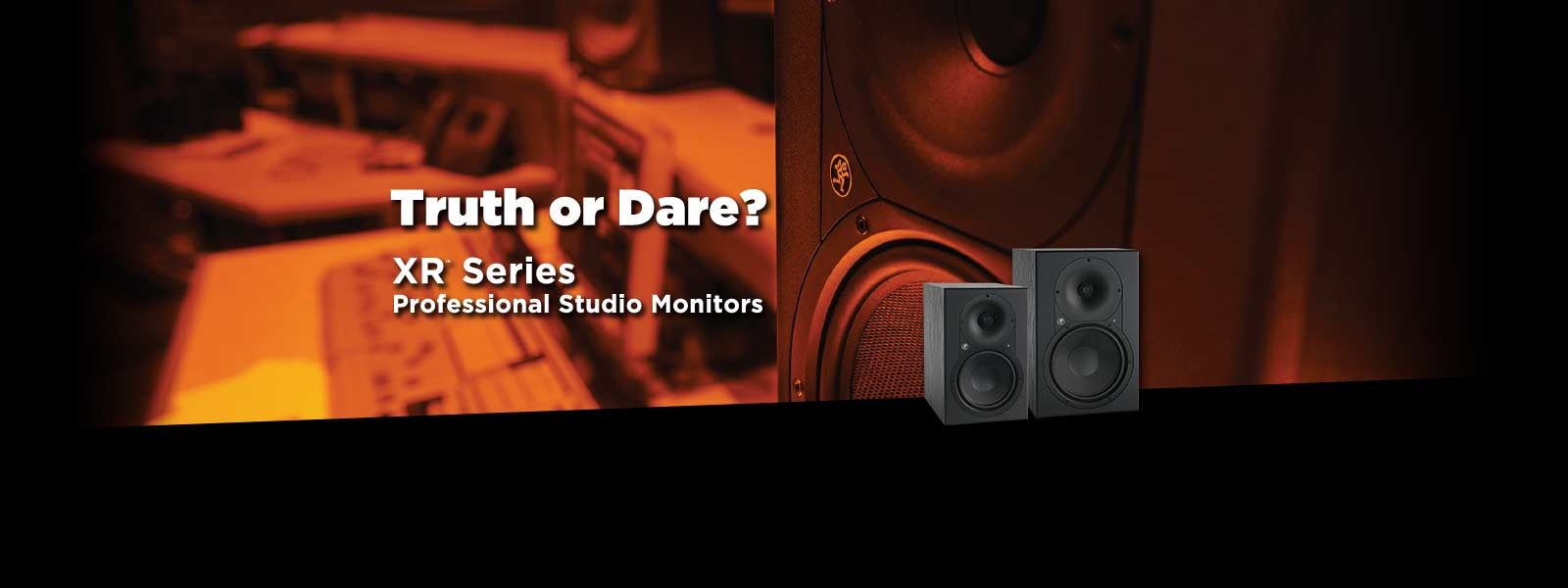 XR series professional studio monitors