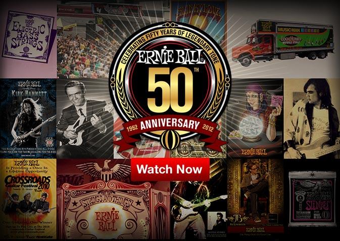 Ernie Ball 50th Anniversary