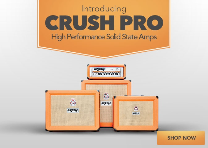 Introducing Crush Pro High Performance Solid State Amp