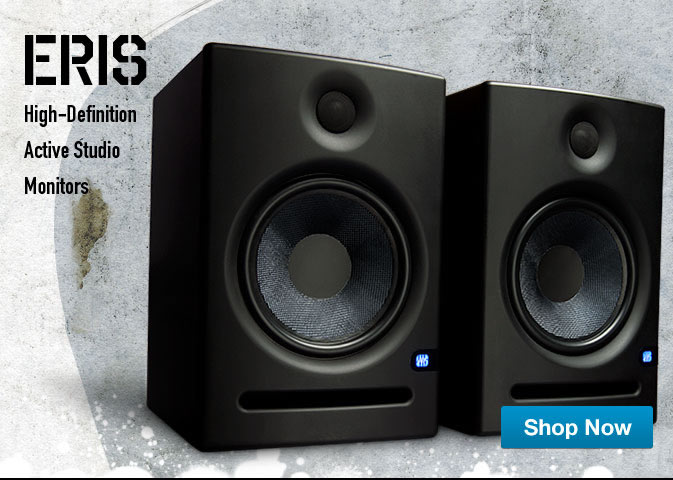 Eris High Definition Active Studio Monitors