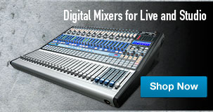 Presonus Digital Mixers for Live and Studio