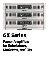 QSC GX Series