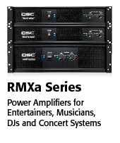 QSC RMXa Series