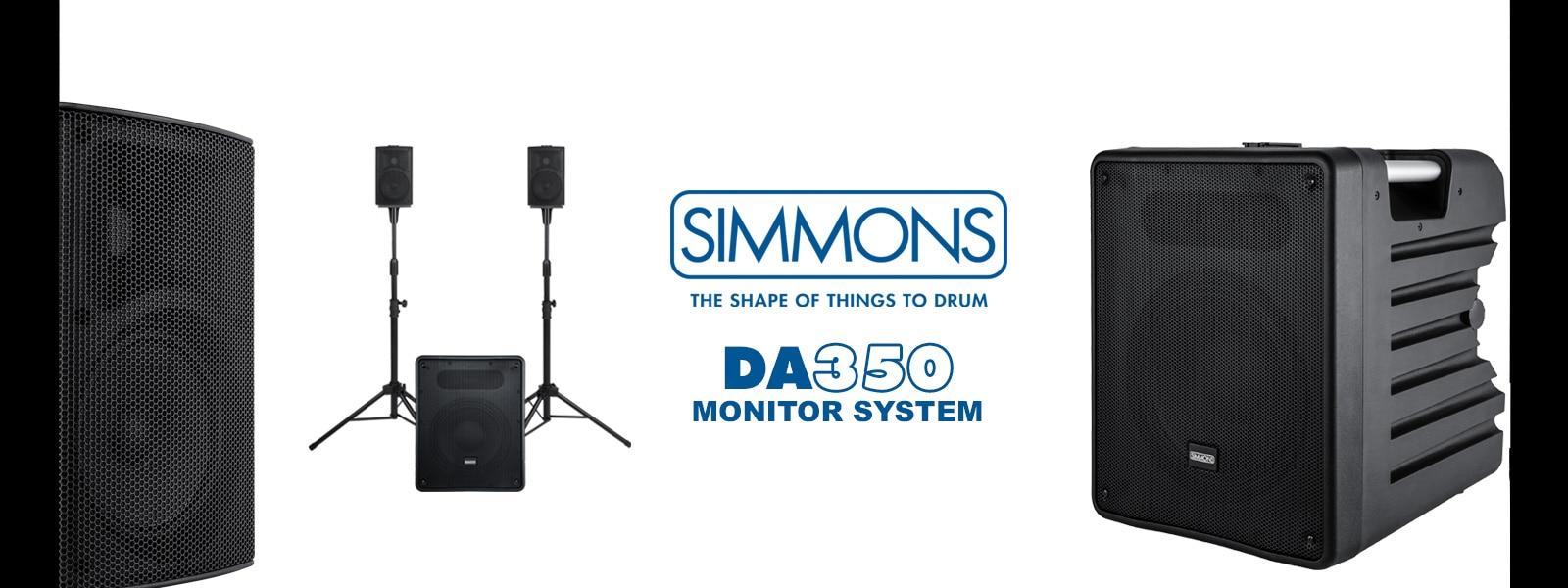 Simmpons DA350 drum monitoring system