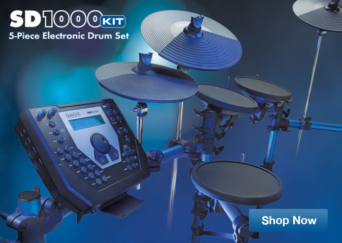 Simmons SD1000 Electronic Drum kit