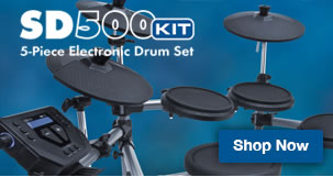 Simmons SD500 5-Piece Electronic Drum Set