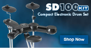 Simmons SD100 electronic drum set