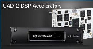 Universal Audio UAD-2 DSP Accelerators