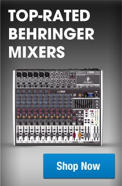 Behringer Top Rated Mixers