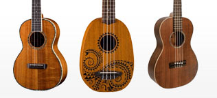 Shop Acoustic Ukuleles