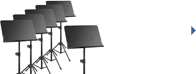 Music Stands Over $100