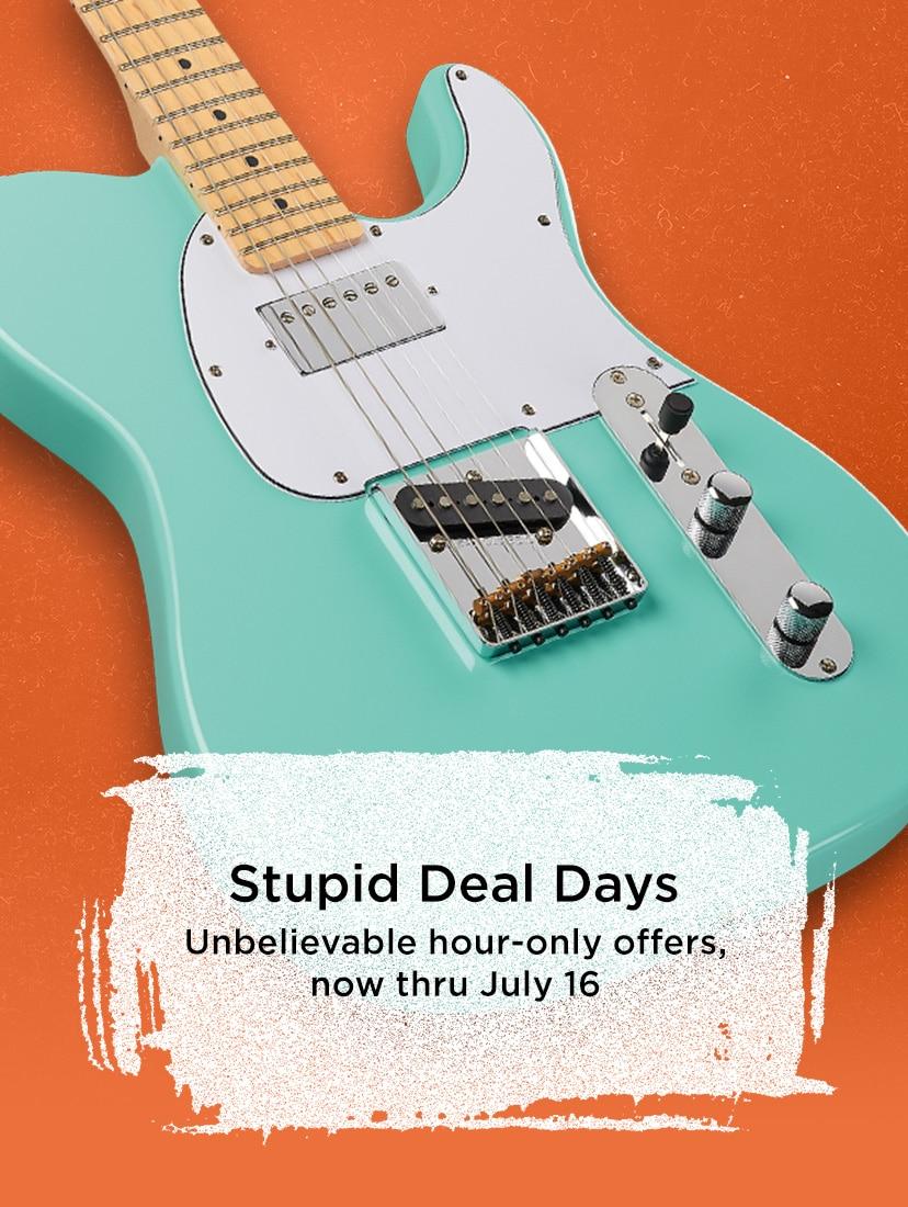2 days of stupid deals musicians friend. Black Bedroom Furniture Sets. Home Design Ideas