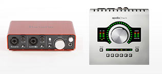 Shop Audio Interfaces