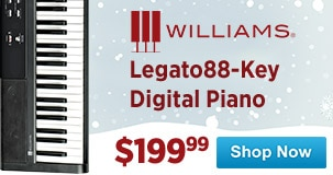 Williams Legato88-Key Digital Piano