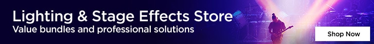 Lighting & Stage Effects Store - Value bundles & Professional Solutions