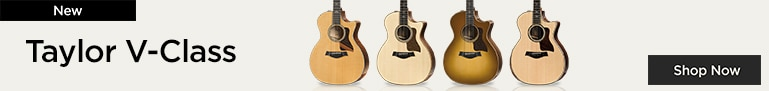 New Taylor Guitars featuring V-Class bracing  A great new advancement in acoustic tone.