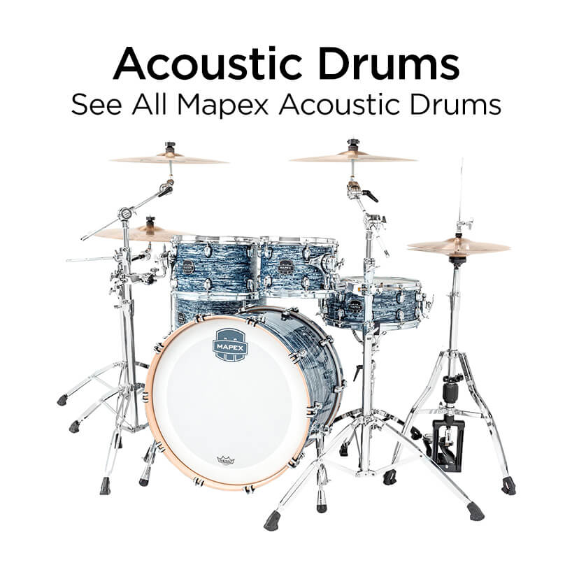 acoustic drums see all mapex acoustic drums
