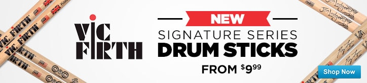 Vic Firth New Signature Series Drum Sticks from nine ninety nine shop now
