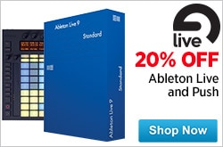 MF MD DR 20 Off All Ableton Software and Push 11-14-14