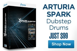 MF MD DR Arturia Spark Dubstep  drums 05-01-13