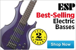 MF MD DR Best Selling electric basses from ESP 05-22-15