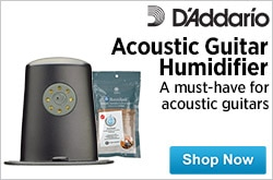 MF MD DR DAddario Acoustic Guitar Humidifier 05-15-15