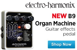 MF MD DR ElectroHarmonix B9 Organ Machine Guitar Effects Pedal  08-29-14