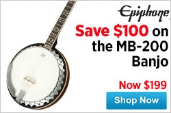 MF MD DR Epiphone MB200 Banjo 04-16-15