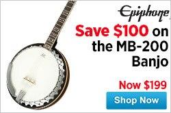 MF MD DR Epiphone MB200 Banjo 05-01-15