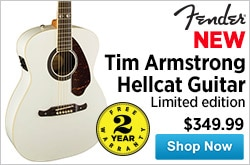 MF MD DR Fender LimitedEdition im Armstrong Hellcat Guitar 01-23-15