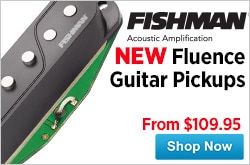 MF MD DR Fishman Fluence Guitar Pickups 08-29-14