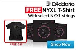 MF MD DR Free DAddario NYXL TShirt  08-14-15