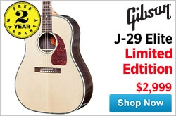 MF MD DR Gibson J29 Elite Limited Edition  09-26-14