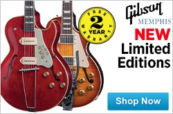 MF MD DR Gibson Memphis Limited Editions 03-13-15