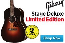 MF MD DR Gibson Stage Deluxe Limited Edition 10-17-14