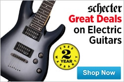 MF MD DR Great Deals on Schecter Electric Guitars 06-19-15