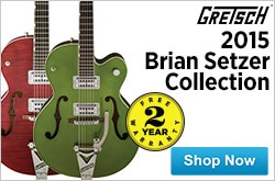 MF MD DR Gretsch 2015 Brian Setzer Collection 07-01-15