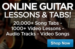 MF MD DR Guitar Lessons & Tabs