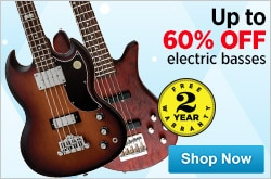 MF MD DR Holiday Hot Deals on Electric Basses 12-12-14