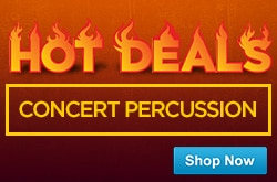 MF MD DR Hot Deals Concert Percussion 5-8-15