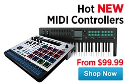 MF MD DR Hot New MIDI Controllers 08-15-14