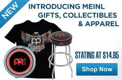 MF MD DR Introducing Meinl Gifts Collectables Apparel 05-15-13