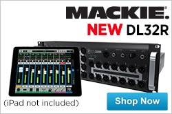 MF MD DR Introducing the Mackie DL32R 10-17-14