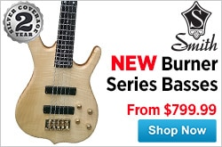 MF MD DR Ken Smith Burner Series Basses  09-19-14