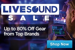 MF MD DR Live Sound Sale 05-01-15